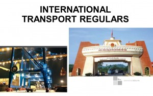 Bài giảng - International Transport Regulars