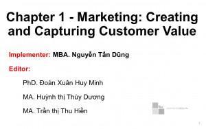 Bộ đề thi Marketing - phần 1