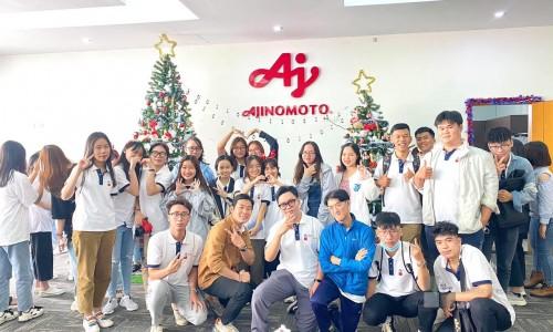 Sinh viên Bộ môn Kinh doanh quốc tế, Trường Đại học Hoa Sen tham quan nhà máy Ajinomoto